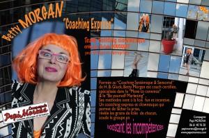 Plaquette Betty MORGAN